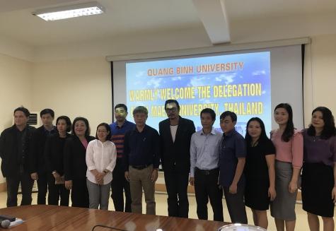 Đón tiếp và làm việc với đoàn công tác Trường Đại học Maejo, Thái Lan