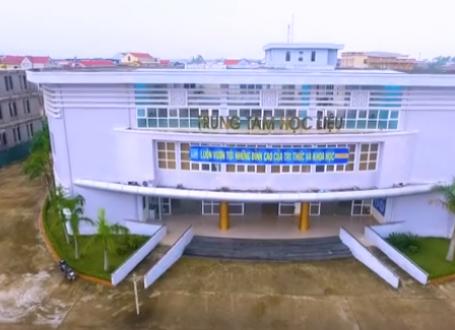 Giới thiệu Trung tâm học liệu - Trường Đại học Quảng Bình 2017
