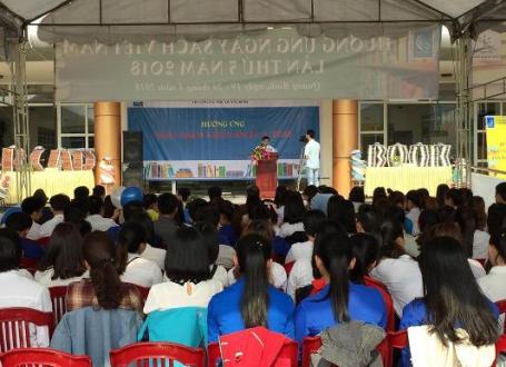 Hưởng ứng Ngày Sách Việt Nam lần thứ 5 năm 2018