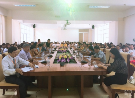 Hưởng ứng Ngày sách Việt Nam lần thứ VI năm 2019 tại Trung tâm Học liệu